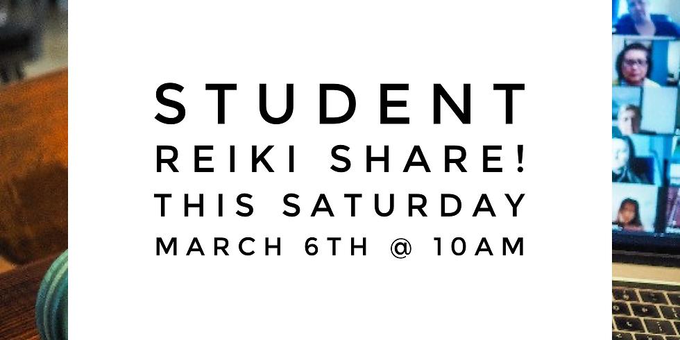 Student Reiki Share