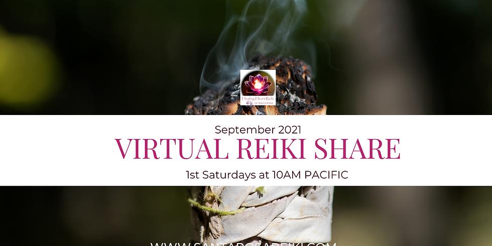 September Reiki Share