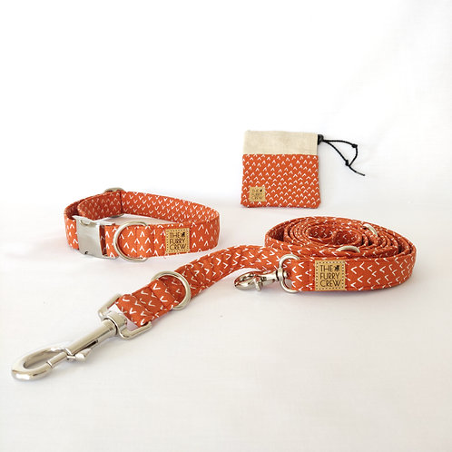 Set met halsband 'Rusty'