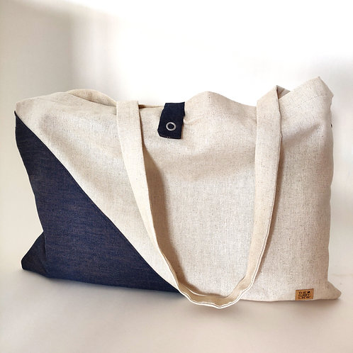 Tote Bag 'Dyed Jeans'