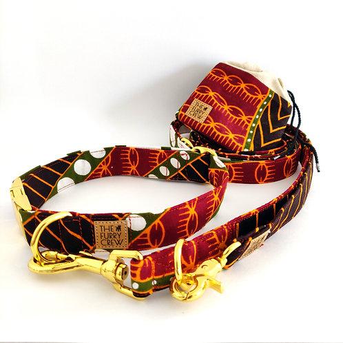 Set met halsband 'Gambia'