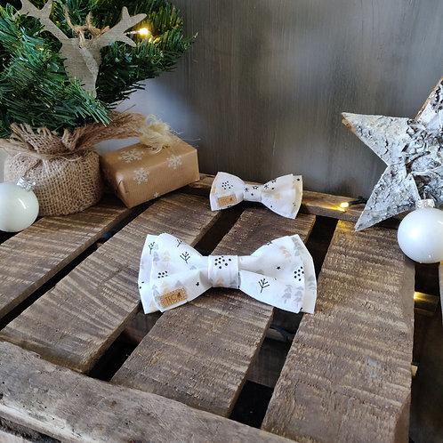 Bow Tie 'White Christmas'
