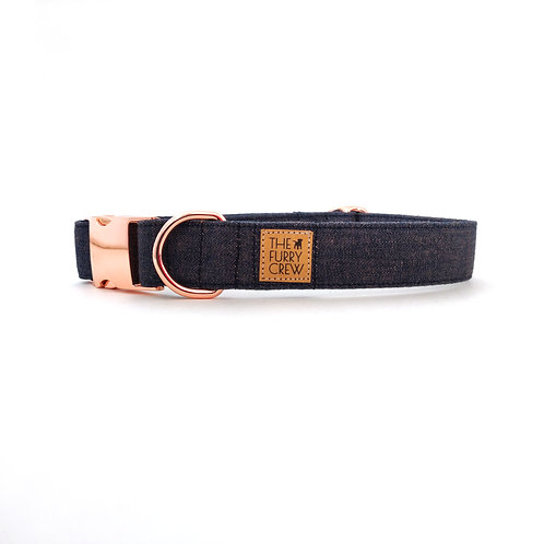 Halsband 'Dyed Jeans'