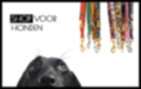 Webshop voor honden met allerlei hondenartikelen en honden accessoires.