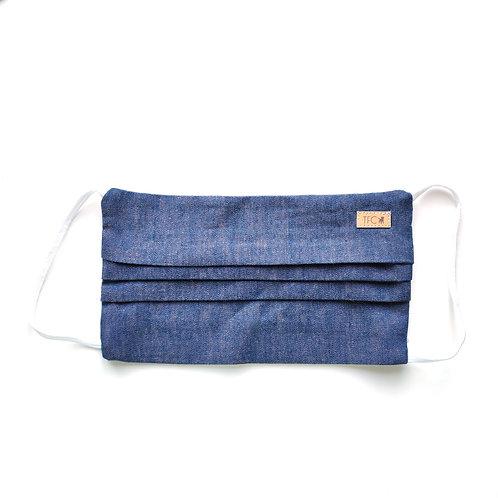 Mondmasker 'Dyed Jeans'