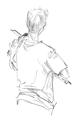 Niño tocando violín