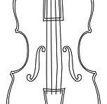 Fachada de un violín