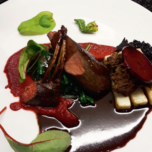 Trio of Hare / Beetroot / Chocolate