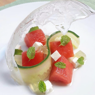 Watermelon / Feta / Cucumber Salad