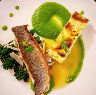 Sea Bass / Dauphinoise / Brocolli / Beurre Blanc
