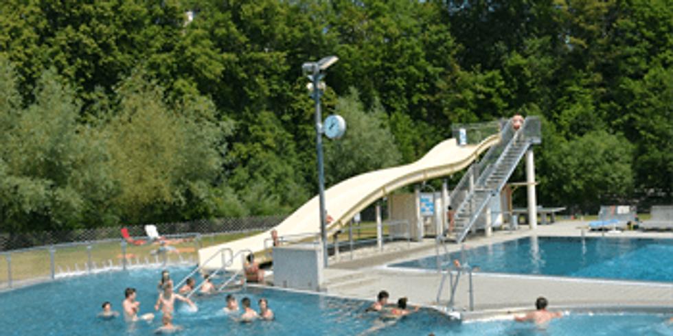 Schnuppertauchen / Ferienspiel im Freibad Zwettl