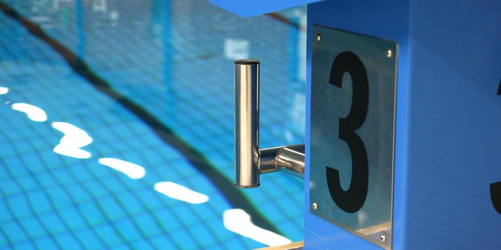 Pool Training 4. Anlauf
