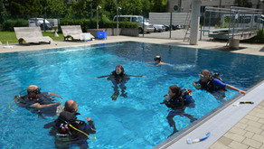 Open Water Diver Pooltraining