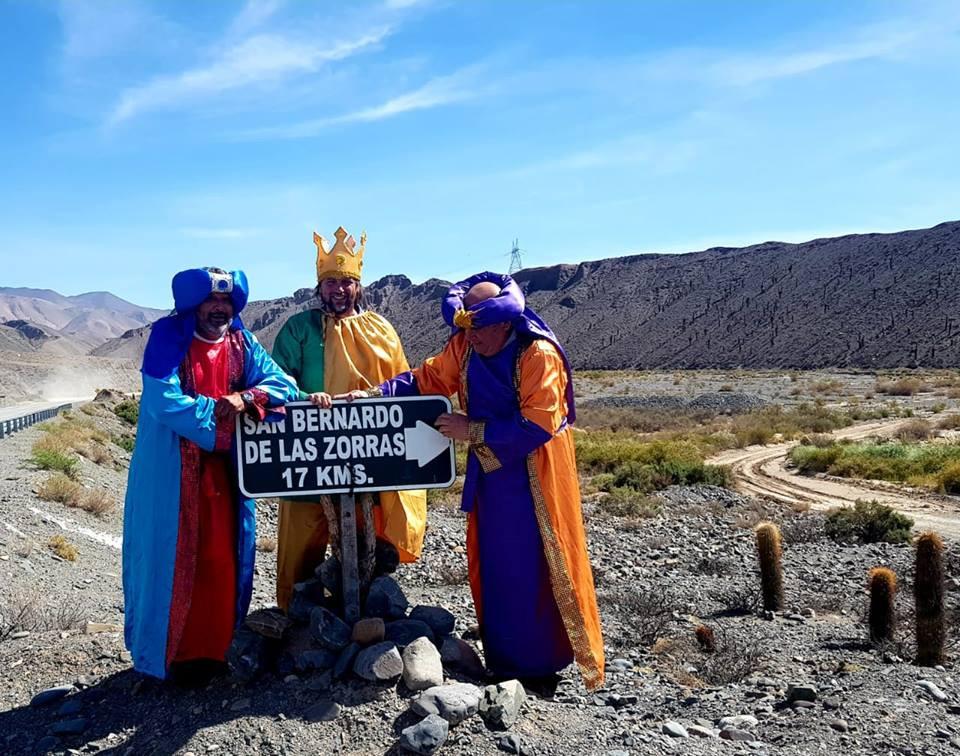 Los Reyes Magos llegaron a la Quebrada