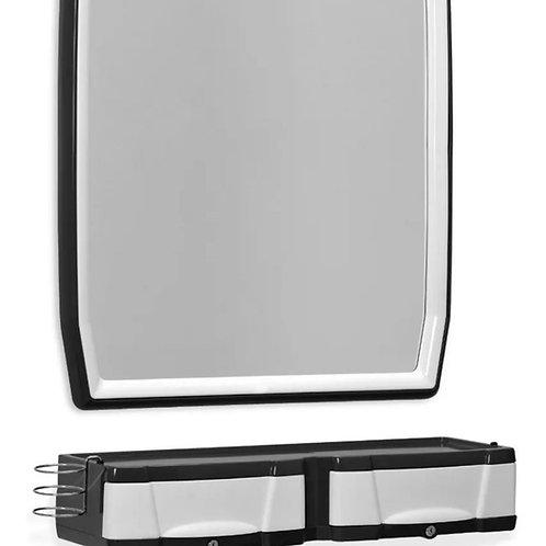 Espejo y gabetas