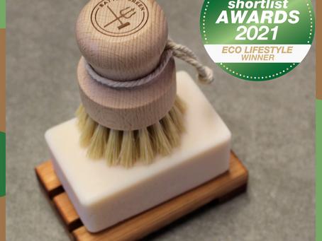 Battle Green Dish Soap Wins Three Beauty Shortlist Awards
