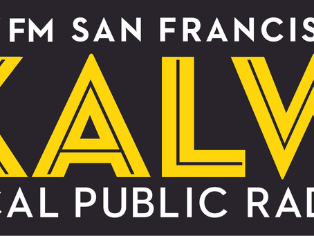 Tonight! A Live interview with BARD on KALW 91.7 FM! Tune in at 6:45pm PST.