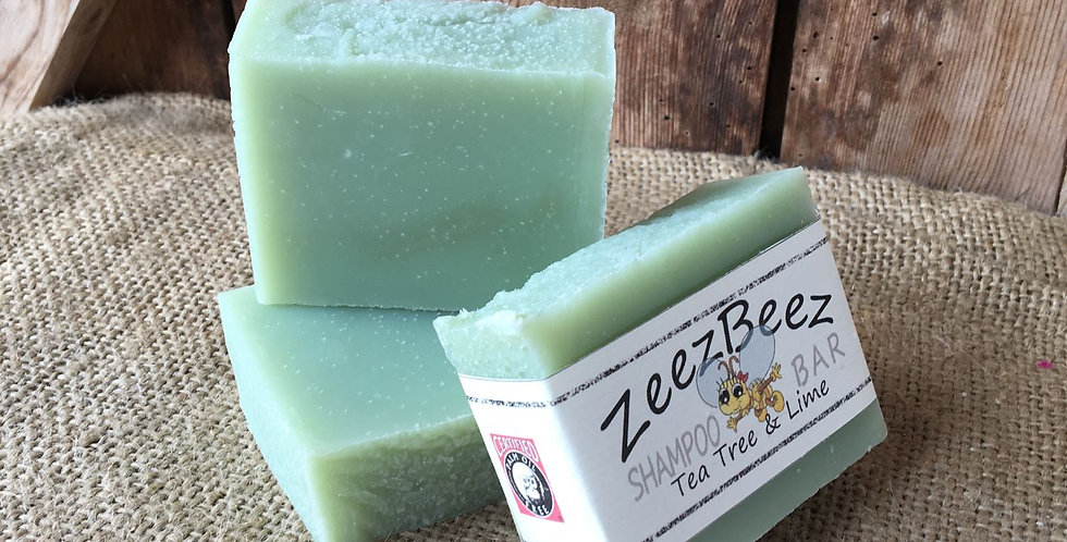 Tea Tree & Lime Shampoo Bar