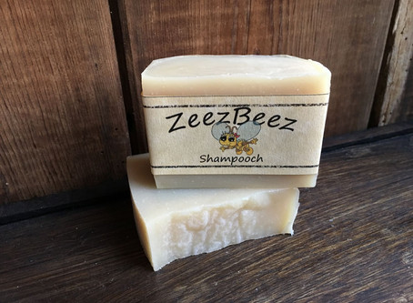 SHAMPOOCH - hand-made soap for dogs.