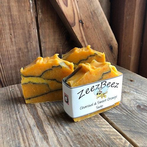 Charcoal & Sweet Orange Soap