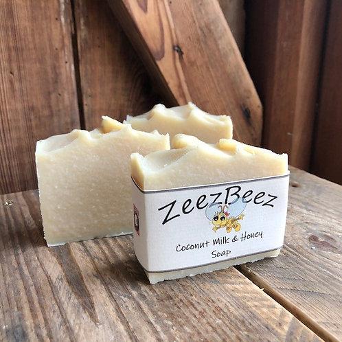 Coconut Milk & Honey Soap