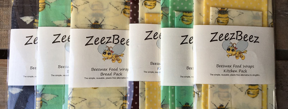 Beeswax Food Wrap - Bread Pack