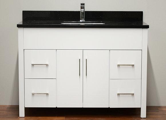 48″ Solid Wood Vanity with Quartz Countertop – TC – 4801