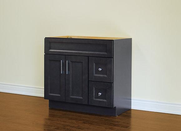 36″ Solid Wood Vanity with Quartz Countertop – TC – DGS36