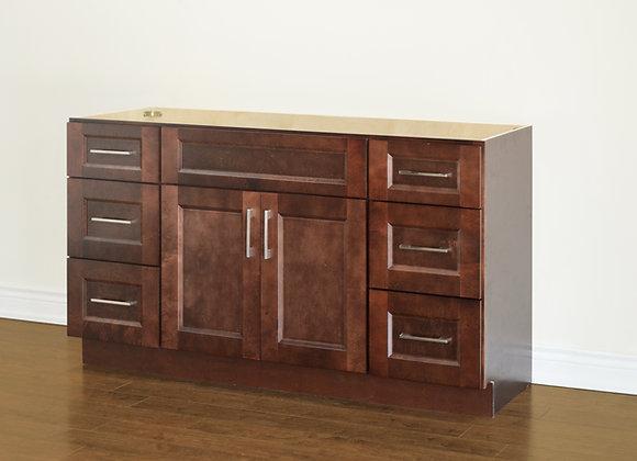 "48"" Solid Wood Vanity With Quartz Countertop – TC – DS48"
