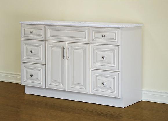 "54"" Solid Wood Vanity With Quartz Countertop – TC – IC54"