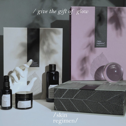 skin regimen Holiday Gift Collection Ins