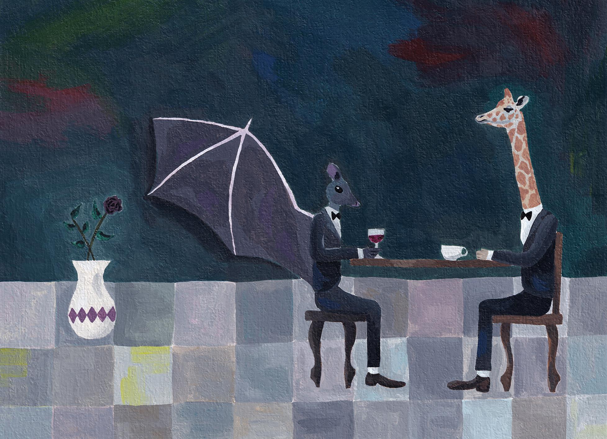 bat & giraffe