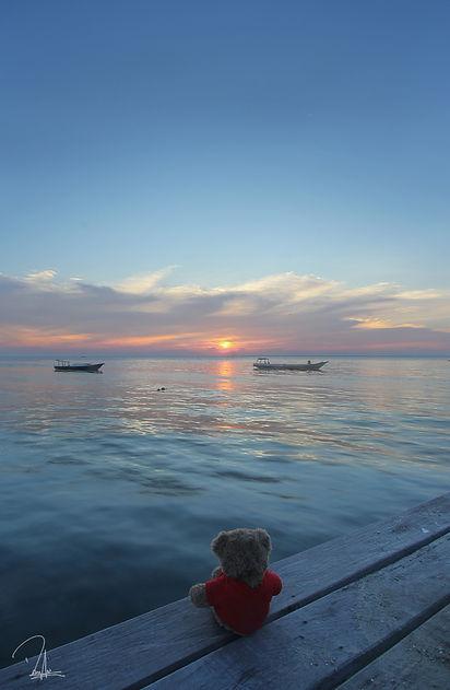 Sunset at Derawan