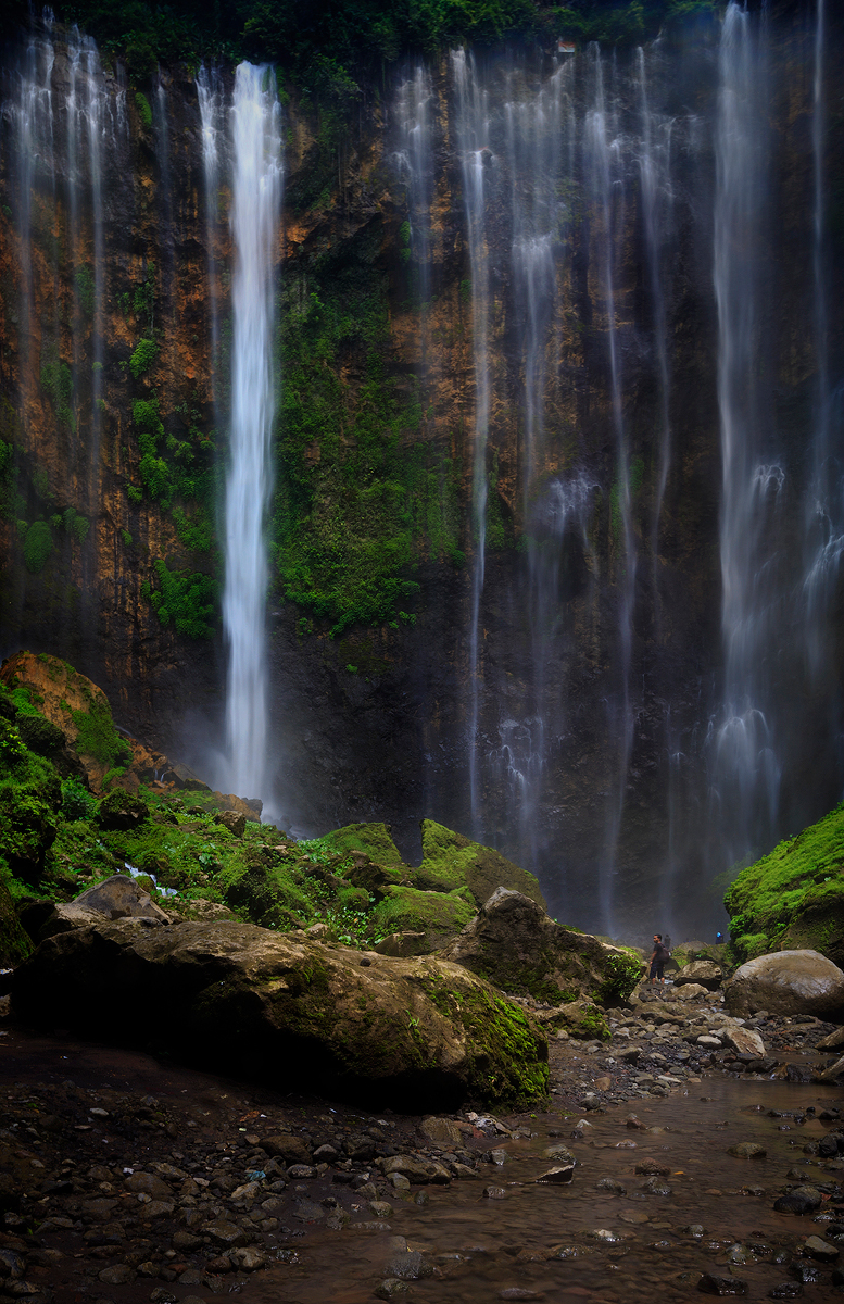 Coban Sewu Waterfalls