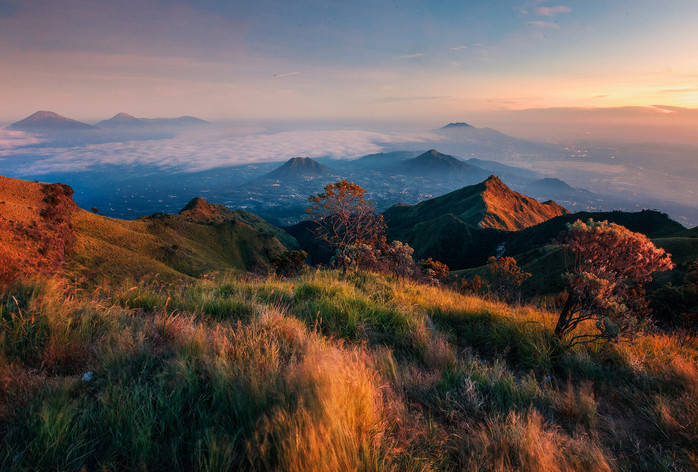The Volcanoes, Central Java