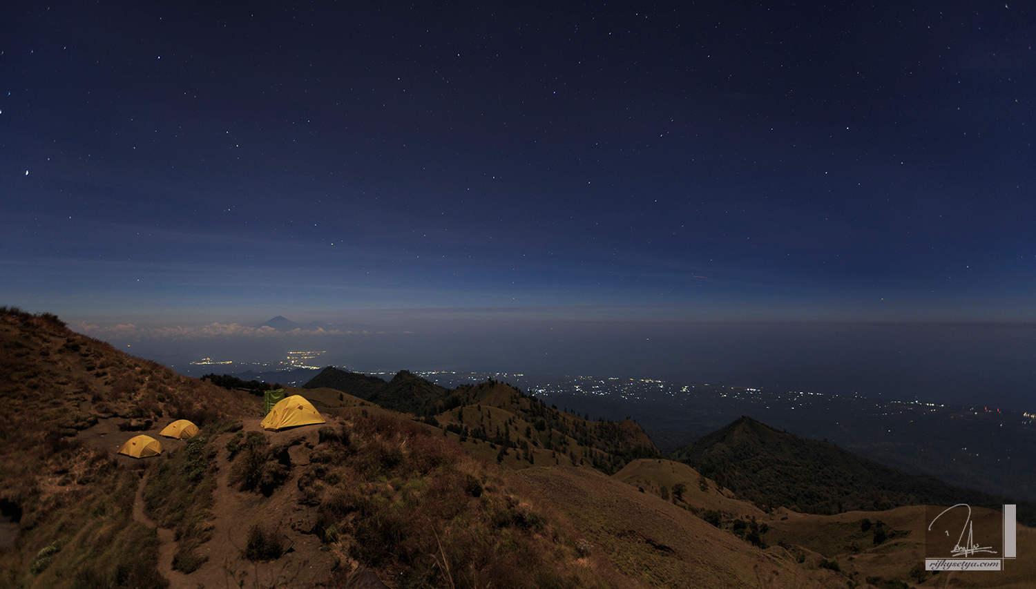 Night Camp at Rinjani