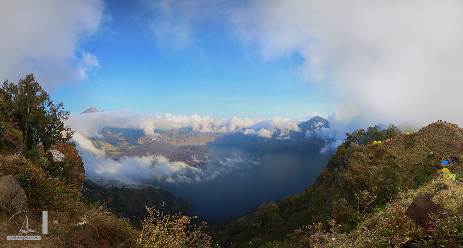 Panoramic Rinjani