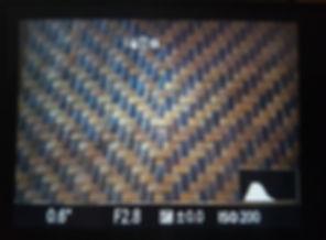 histogram on camera screen
