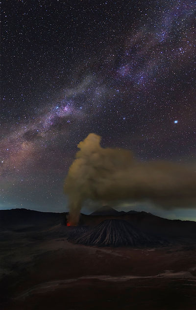Milky Way at Bromo