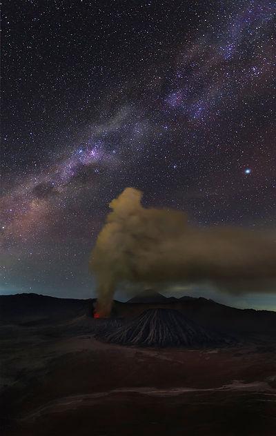 Milky Way at Bromo