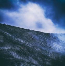 Ijen Blue Cliff