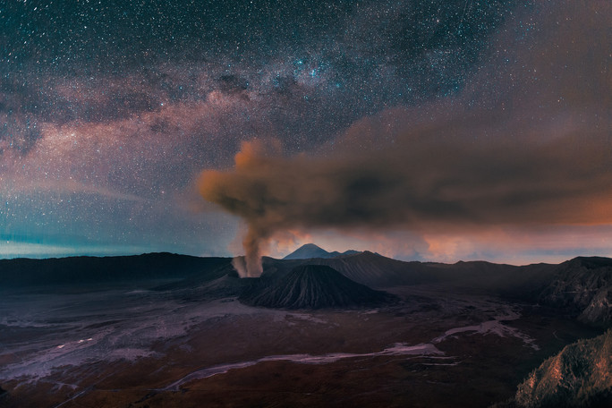 Bromo Milky Way, East Java