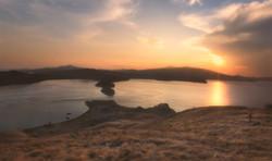 Sunset at Gili Lawa