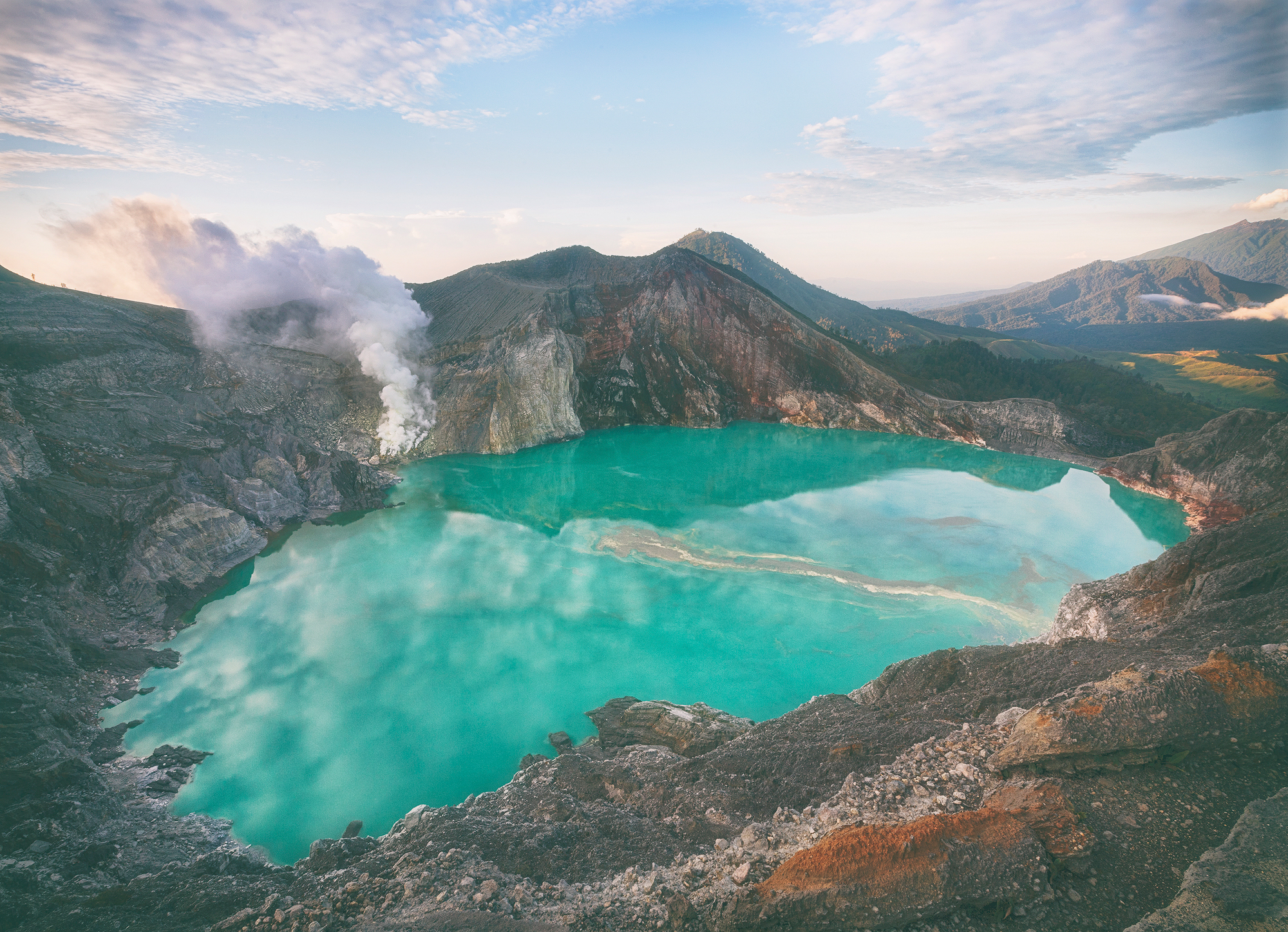 Ijen Green Lake
