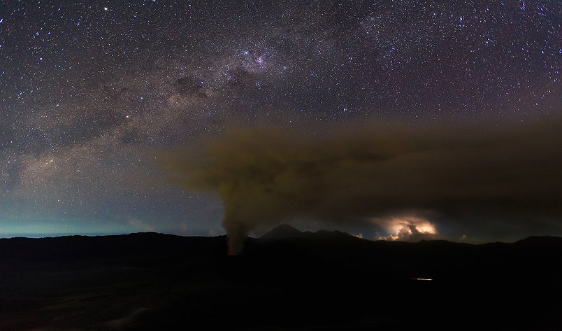 Bromo Milky Way