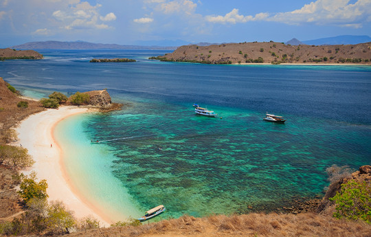 Pink Beach at Komodo