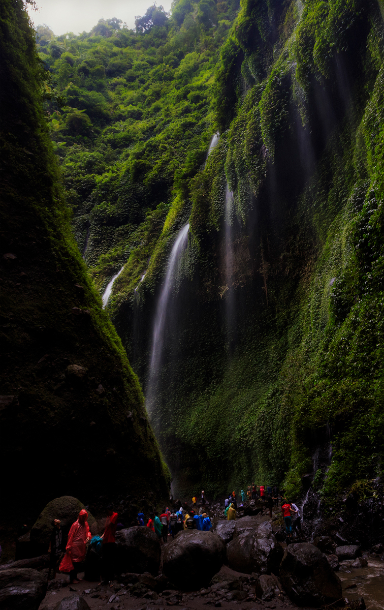 Waterfalls at East Java