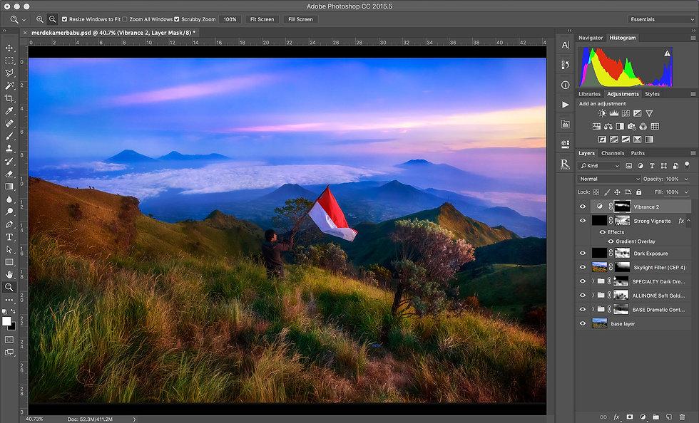 Sleeklens Landscapes Photoshop Action