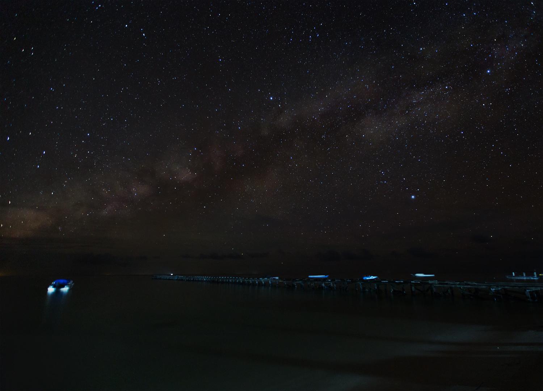 Night at Maratua