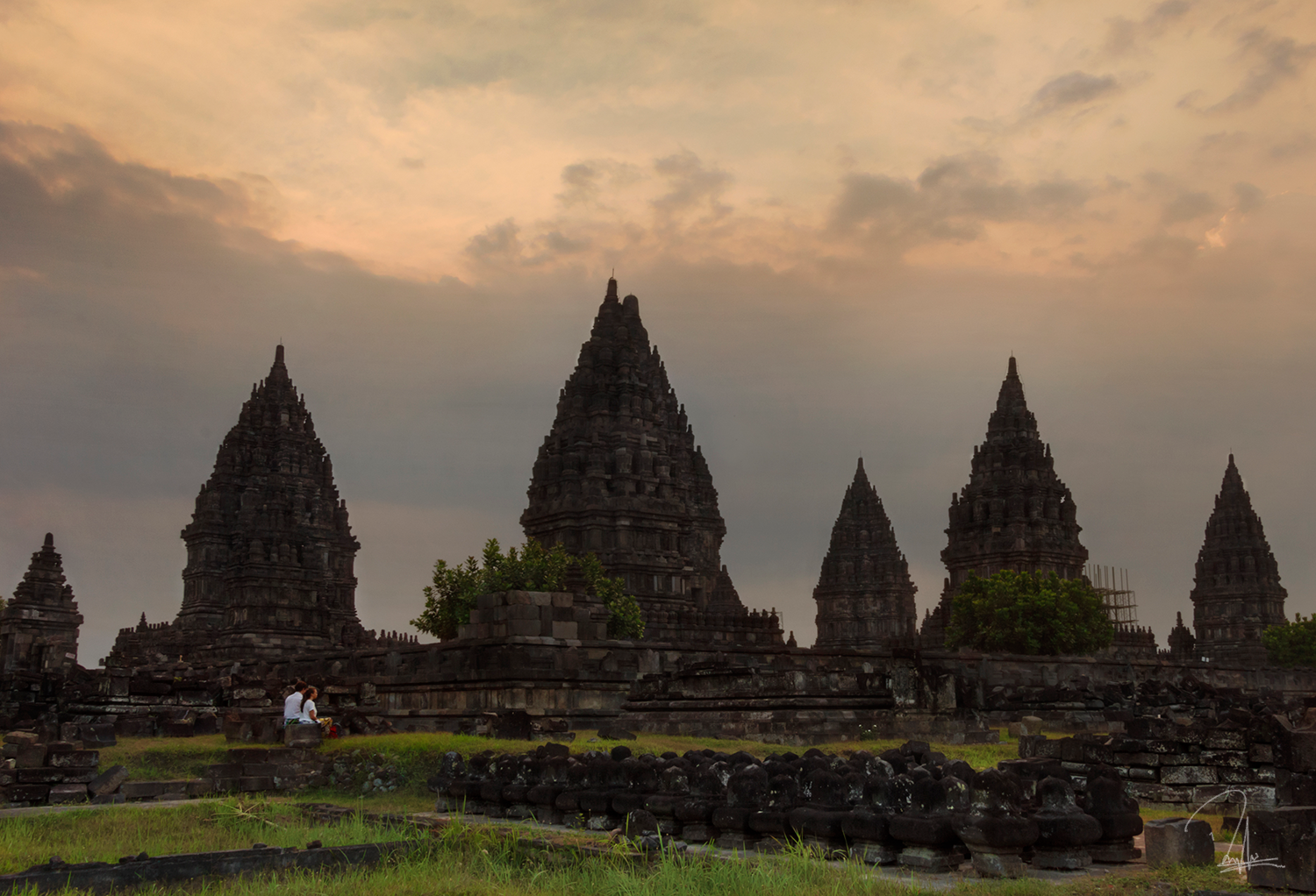 Contemplation at Prambanan